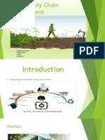 Green Supply Chain Final