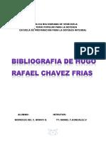 Bibliografia de Hugo Chavez Frias