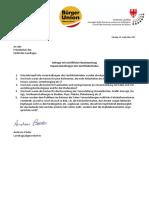 Sabes-Impf-Info-Veranstaltungen kosten 18.600 Euro - Landtagsanfrage A. Pöder und Antwort LR M. Stocker