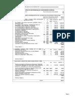 Presupuesto Supervisión