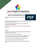 Carpeta de Presentacion de La Radio