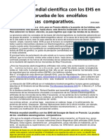 EHS Primicia Mundial Cientifica en Francia La Prueba de Los Encefalos Escanogramas Comparativos 23-08-2010