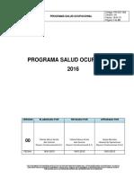 Plan Medico Laboral 2017