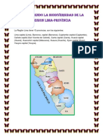 Reconociendo La Biodiversidad de La Region Lima
