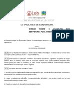 Lei Ordinária 525 2004 de São José Dos Pinhais PR