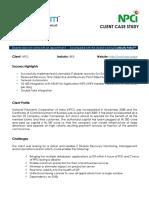 Case Study - NPCI