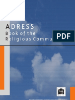 Address Book of the Religious Communities in Macedonia