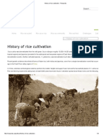 History of Rice Cultivation - Ricepedia