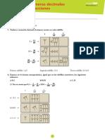 Tema03_decimales y Fracciones SOLUCIONARIO