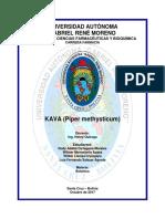 Monografía Planta Kava
