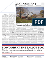 The Bowdoin Orient- Vol. 147, No. 8 - November 3, 2017
