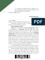 rol 46570-2017 Corte de Apelaciones de Santiago