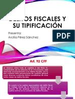 Delitos Fiscales y Su Tipificación