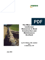 Wise Use of Landscape Resources in Road Construction and Maintenance-Scotland_MIS001