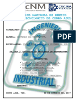UNIDAD 3 Sistemas de Manufactura