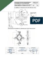Emd 02 057 Espassador Polimérico Losangular com Trava