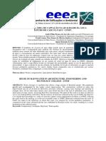 (2014, Queiroz & Azevedo) Influência Da Área de Captação Na Qualidade Da Água