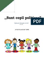 Optional Educație Civica - Grupa Mare