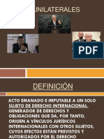 Actos Unilaterales