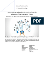 Rusek_2015_The Impact of Authentication Methods on the Adoption of the Internet of Things