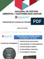 ForoXII Ponencia Operacion de Plantas de Tratamiento de Aguas Rafael Ruiz Zapata
