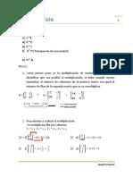 Multiplicación Matrices