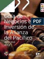Guía de Negocios e Inversión de La Alianza Del Pacífico 2017-2018