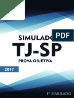 1o Simulado TJSP 2017