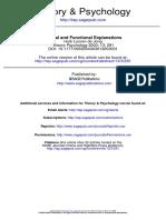 Looren de Jong (2003) Causal and Functional Explanations