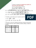 APS - Simplificação de Expressões e Mapa de Karnaugh