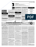 Claremont COURIER Classifieds 11-3-17