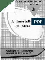 A Imortalidade Da Alma - 31