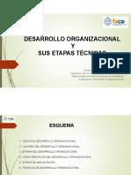 DESARROLLO ORGANIZACIONALV1