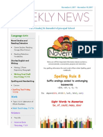 weekly newsletter-nov6-nov10