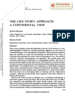 Bertaux and Kohli_1984_The Life Story Approach a Continental View