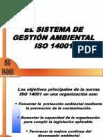 Sistema de Gestión Ambiental - IsO 14001