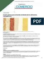 Cuatro Pistas Para Entender El Debate de Los Alimentos Transgénicos _ El Comercio