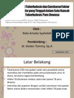 Proporsi Infeksi Tuberkulosis Dan Gambaran Faktor Risiko Pada