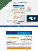 Formato Factura IVA