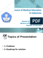 Development of Medical Education