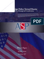 U.S. Foreign Policy Toward Russia