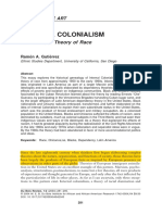 Internal Colonialism an American Theory of Race