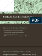 Spokane Fair Elections Code - Study Session (November 2nd)