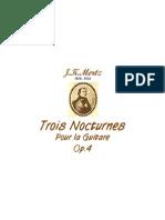 [Free com Mertz Johann Kaspar Nocturnes 18154