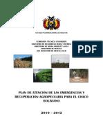 Plan Emergencia 2012