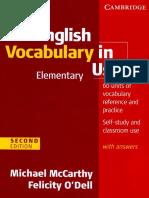English Vocab in Use - Elem