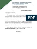 Carta de Pedido de Beca Seminario Mexico Raquel