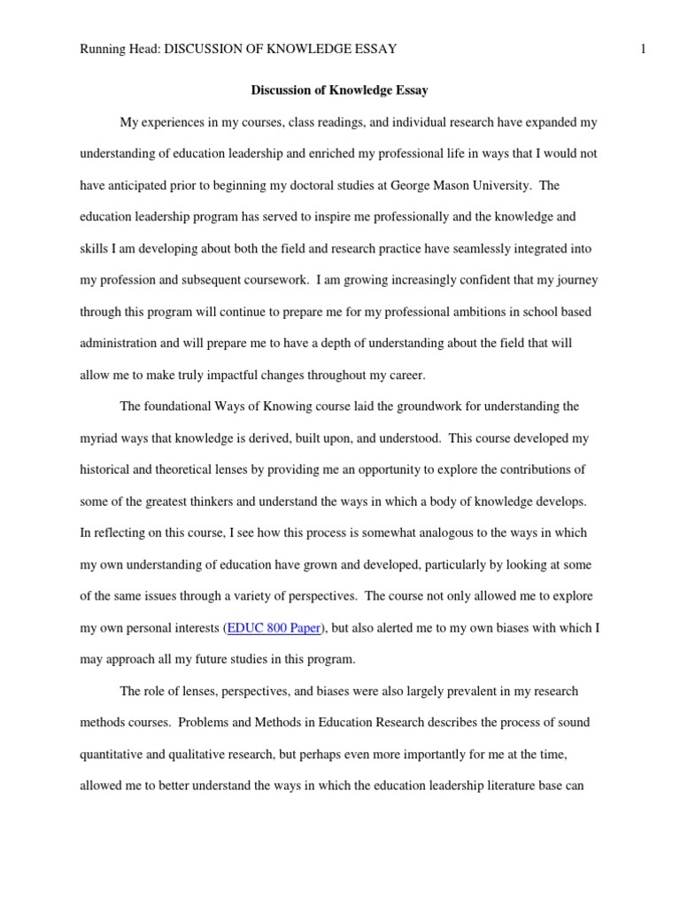 leadership roles essay