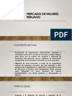 Mercado de Valores Peruano