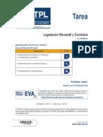 Legislación Mercantil y Societaria